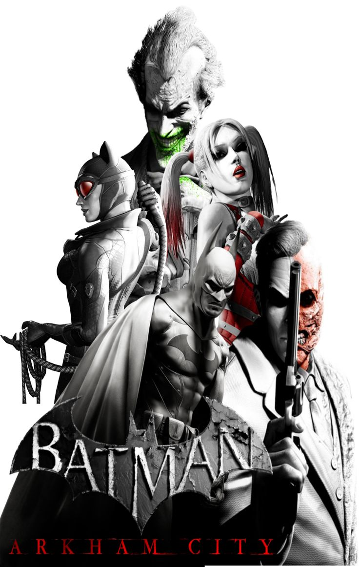 Batman Arkham city poster. by Alexander Springfledt