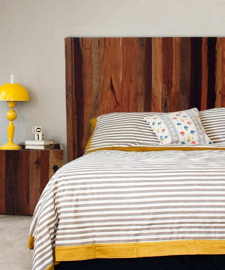 Reclaimed crate headboard for the home pinterest for Recycled headboards