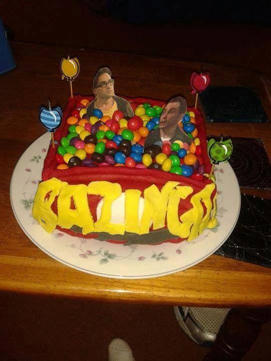 Sheldon Cooper Birthday Cake