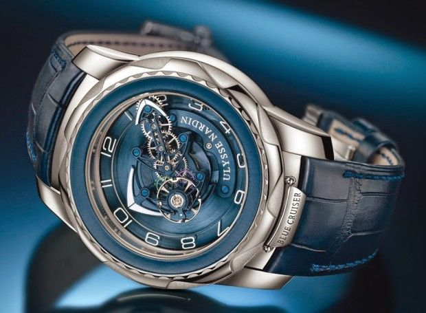 The Ulysse Nardin Freak Blue Cruiser Timepiece $87,500 #montre #montres #watches #watch #watchoftheday #horology #horlogerie #hautehorlogerie #horloger #gardetemps #unique #tourbillon #chronograph #chronographe #menstyle #mensfashion #luxury #luxe #dandy #placevendome #montredeluxe #gentleman #elegance