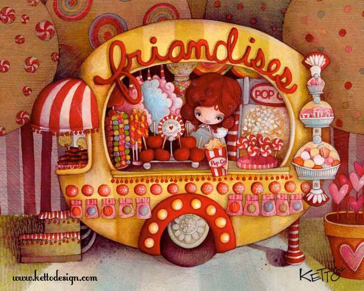 Sweets Wagon