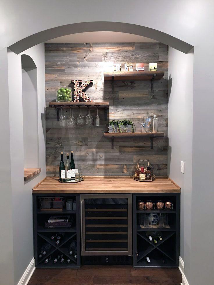 Mini Bar For Entertainment Room Corner Bar Home Bar Essentials Rustic Basement Bar