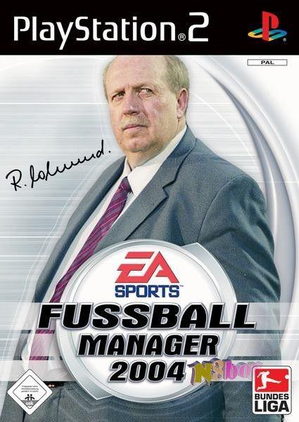 Playstation2 játék: Fussball Manager 2004, Német nyelvű változat, eredeti tokjában
