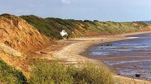 The Wirral Country Park Beach at Thurthaston