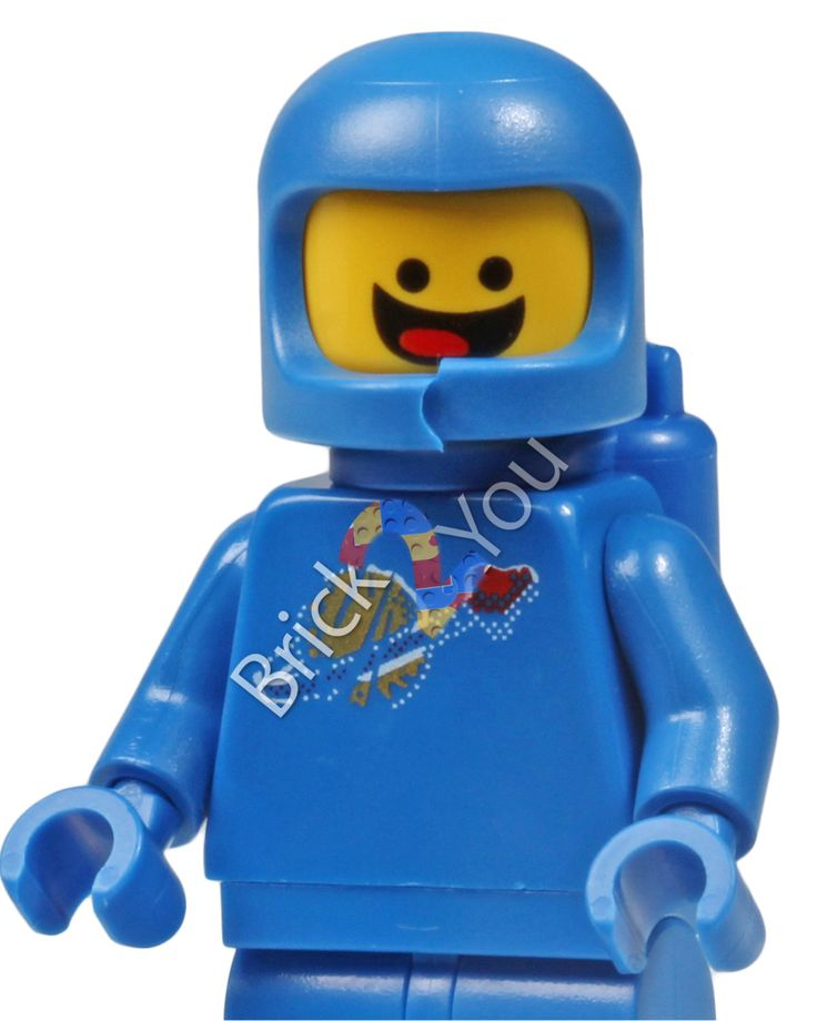 LEGO Benny Minifigure from 70810 MetalBeards's Sea Cow tlm057, Digital file, Instant download by Brick2you on Etsy