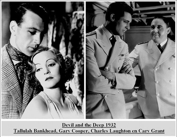 Tallulah Bankhead, Gary Cooper, Charles Laughton, Cary Grant