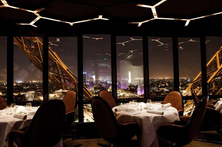 Restaurant le Jules Verne - Tour Eiffel Paris