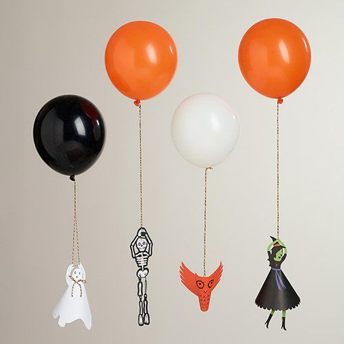 You'll want to hang on to these Halloween balloon holders kit!