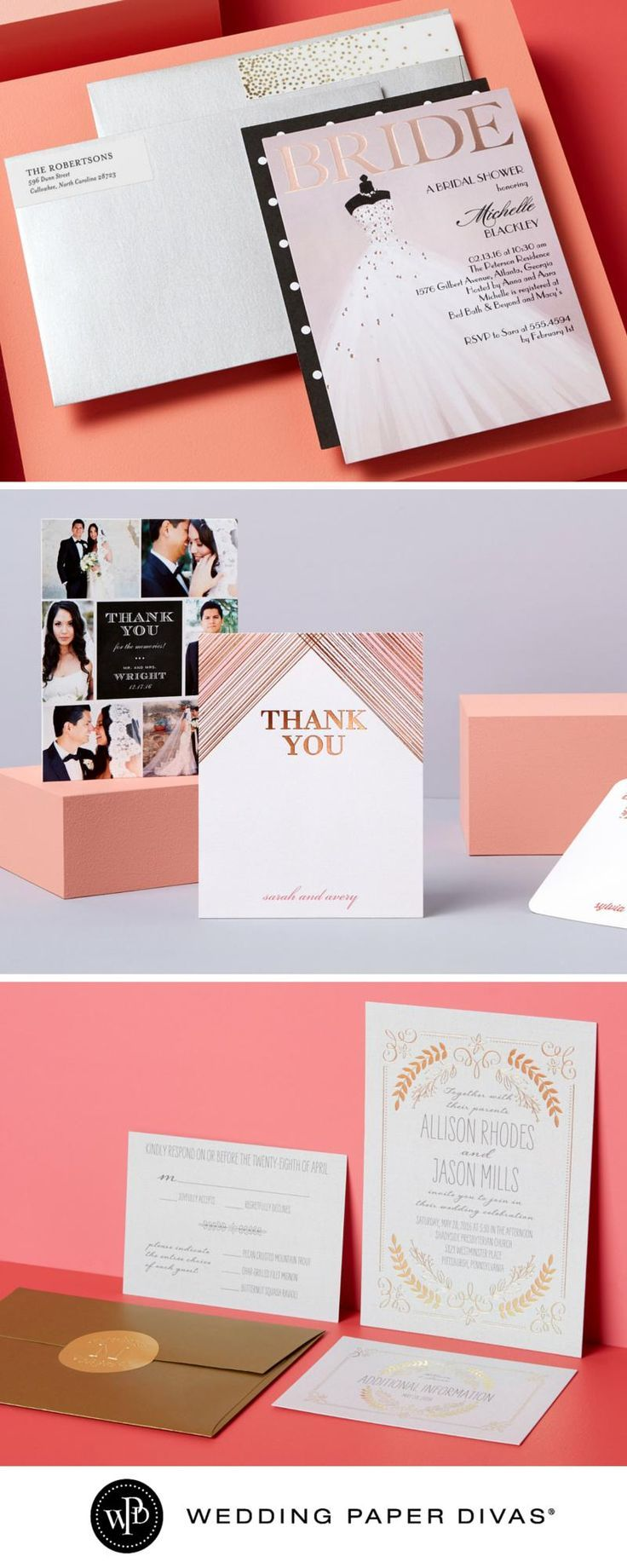 wedding invitations divas%0A Wedding Invitations by Style and Color at Wedding Paper Divas