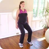 Pregnancy Fitness 101 - benefits to both mom and baby as well as exercises and other good information.