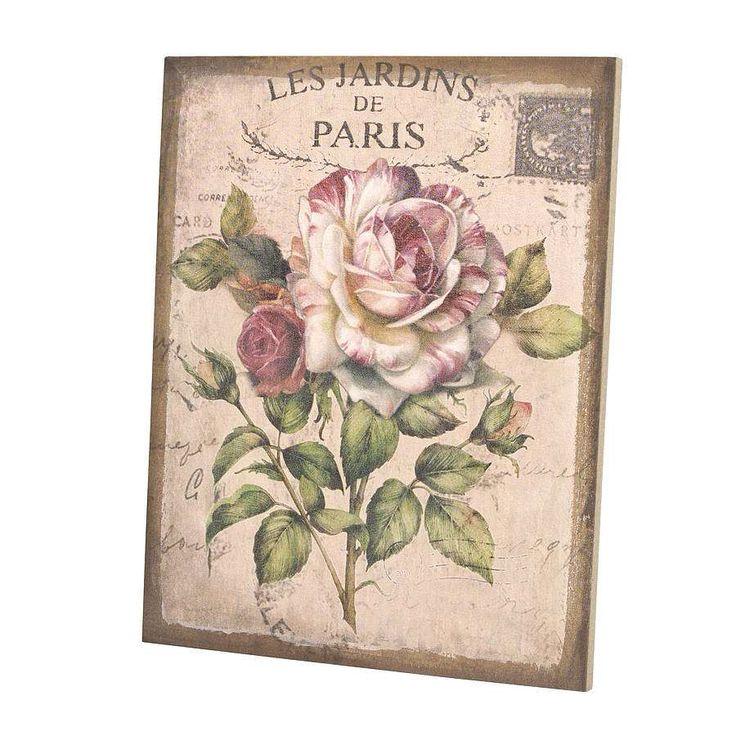 I've just found Jardin De Paris Wall Canvas. Jardin De Paris Wall Canvas. £21.00