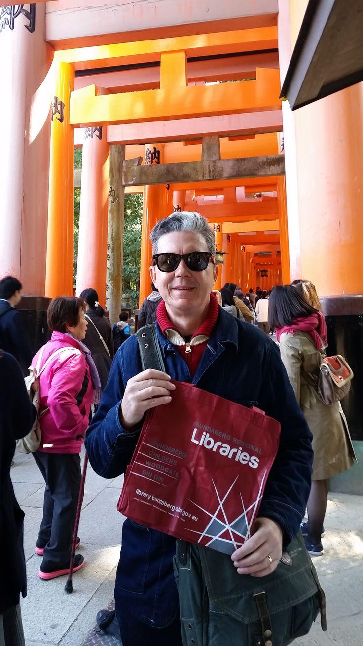 Fushima Inari Shrine, Kyoto, Japan. Photo: B. McMahon. Mar 2016.