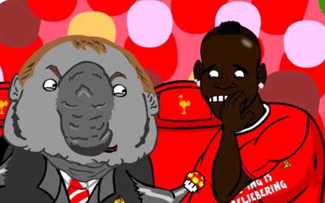 Haha! Mario Balotelli shocked Liverpool fans on Tuesday night when he ended his long wait for a Premier League goal by scoring the winner in a 3-2 victory over Tottenham Hotspur. Cartoon makers 442oons have recreated the action with a superb spoof video, which brilliantly parodies classic Nintendo game Super Mario. In the video, which you can […]