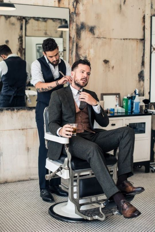 """brolifegoals: """"Oldschool Barber """""""