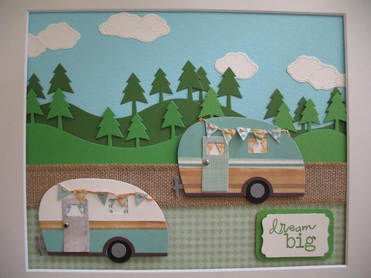 Happy little campers by Julene23 - Cards and Paper Crafts at Splitcoaststampers