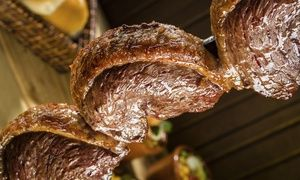 Groupon - $ 60 for All-You-Can-Eat Rodizio Dinner for Two with Wine at Yolie's Brazilian Steakhouse ($93.98 Value) in Paradise. Groupon deal price: $60