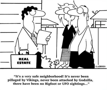 Find a #safe #neighborhood for the #family  #miami #realestate #realtor #funny #godzilla #ufos #bigfoot