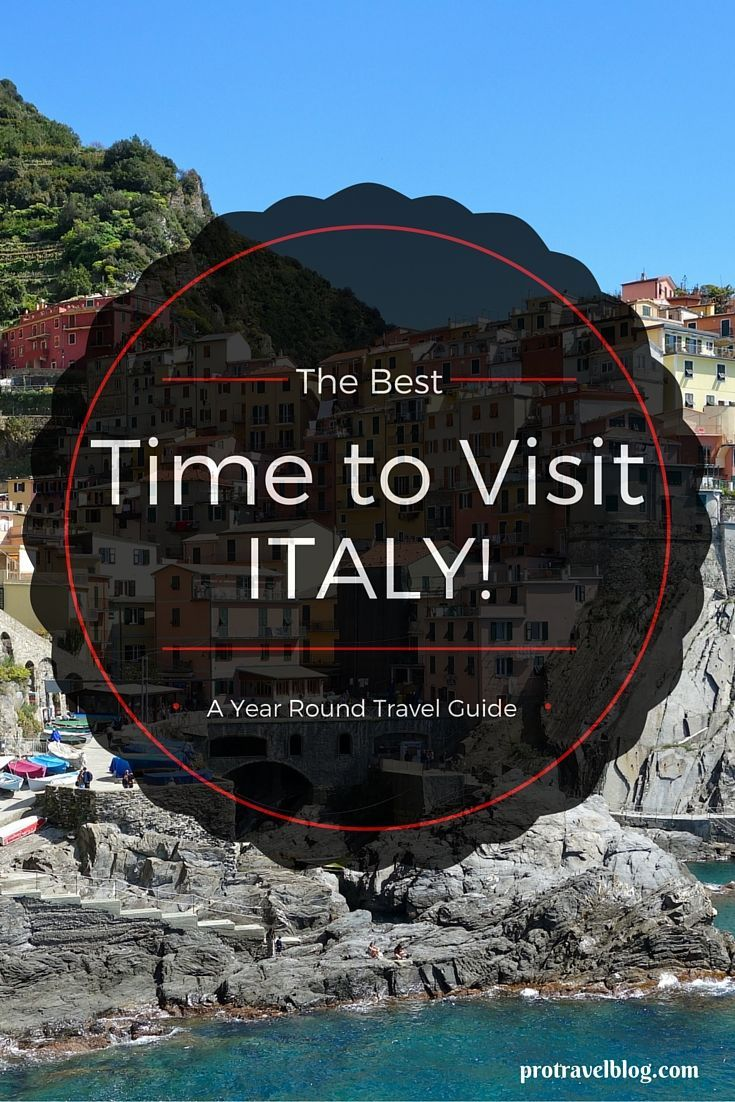 If you're wondering what time of year is the best to visit Italy, check out this guide that explains the pro's and con's of going to Italy for each season of the year!