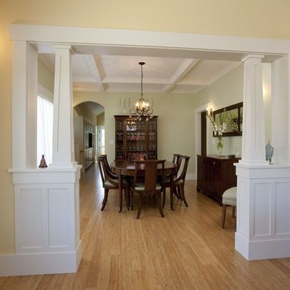 Ideas for Openings Between Rooms | Foyer wall opening ...
