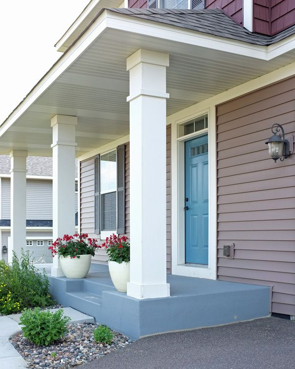 58 Best Images About Painted Brick Ranch On Pinterest