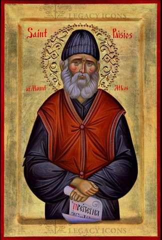 Saint Paisios of Mount Athos Icon
