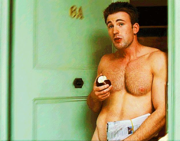 Chris Evans shirtless! | Would You Date Chris Hemsworth Or Chris Evans: A Careful Analysis