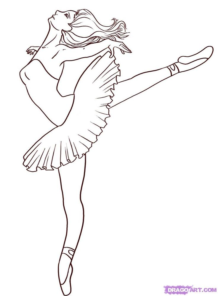 Ballerina Chelsea Barbie Coloring Pages
