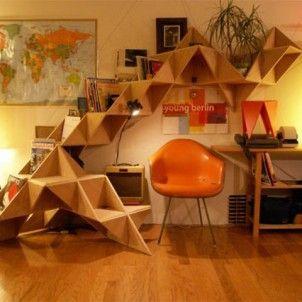 Haha zoiets moeten we maken voor mijn studeerkamer! (Wel rekening houden met verhuizen! Misschien losse delen?)