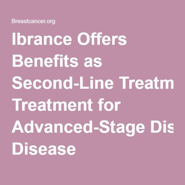 Ibrance Offers Benefits as Second-Line Treatment for Advanced-Stage Disease