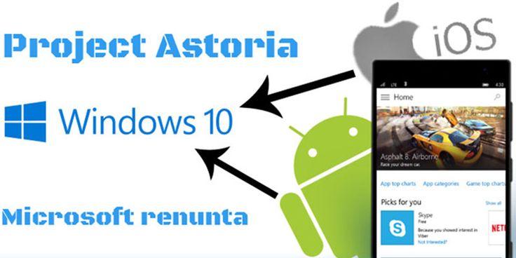 Project Astoria era obiectivul pe care doreau sa il realizeze cu ajutorul unei infrastructuri care sa permita oricarei aplicatii de pe Android sa poata ...