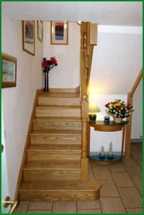 Isle of Tiree - Ash Cut String Staircase