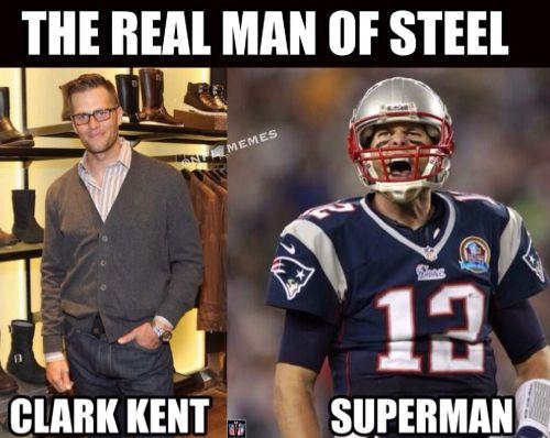 Tom Brady, the Man of Steel