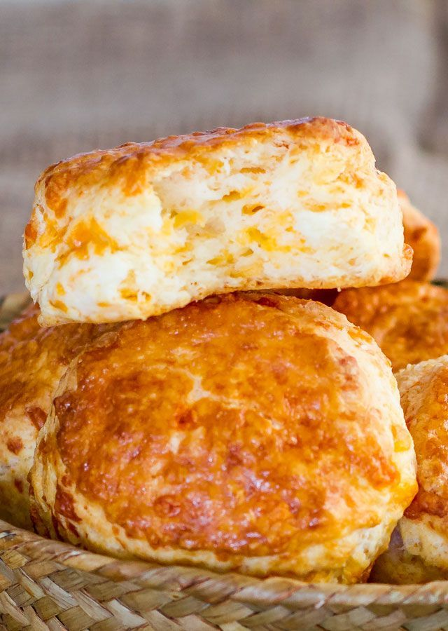 Cheddar Cheese Buttermilk Biscuits – delicious, tender, flaky and ...