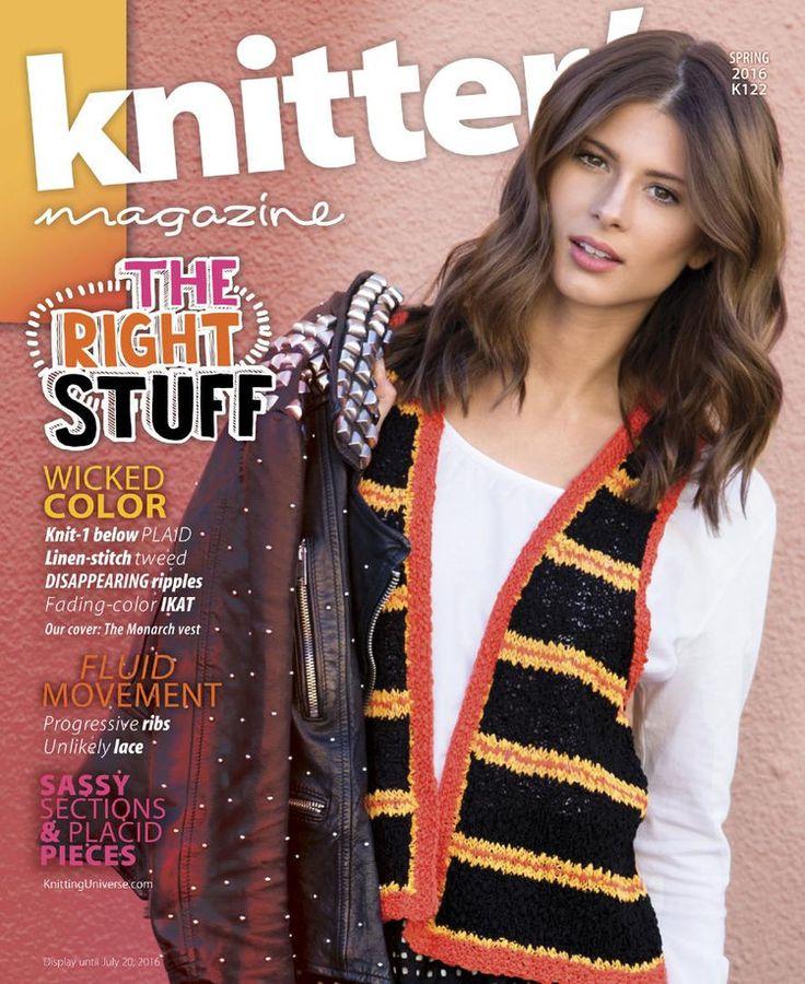 Knitters Magazine Spring 2016 Journals Knitampcrochet Pinterest