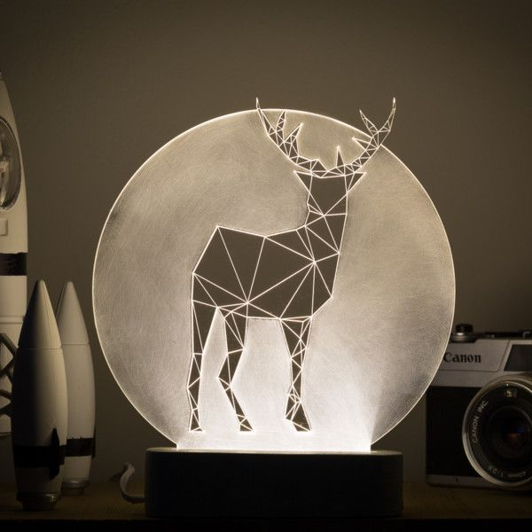 Lampka Deer Full Moon | Bonami
