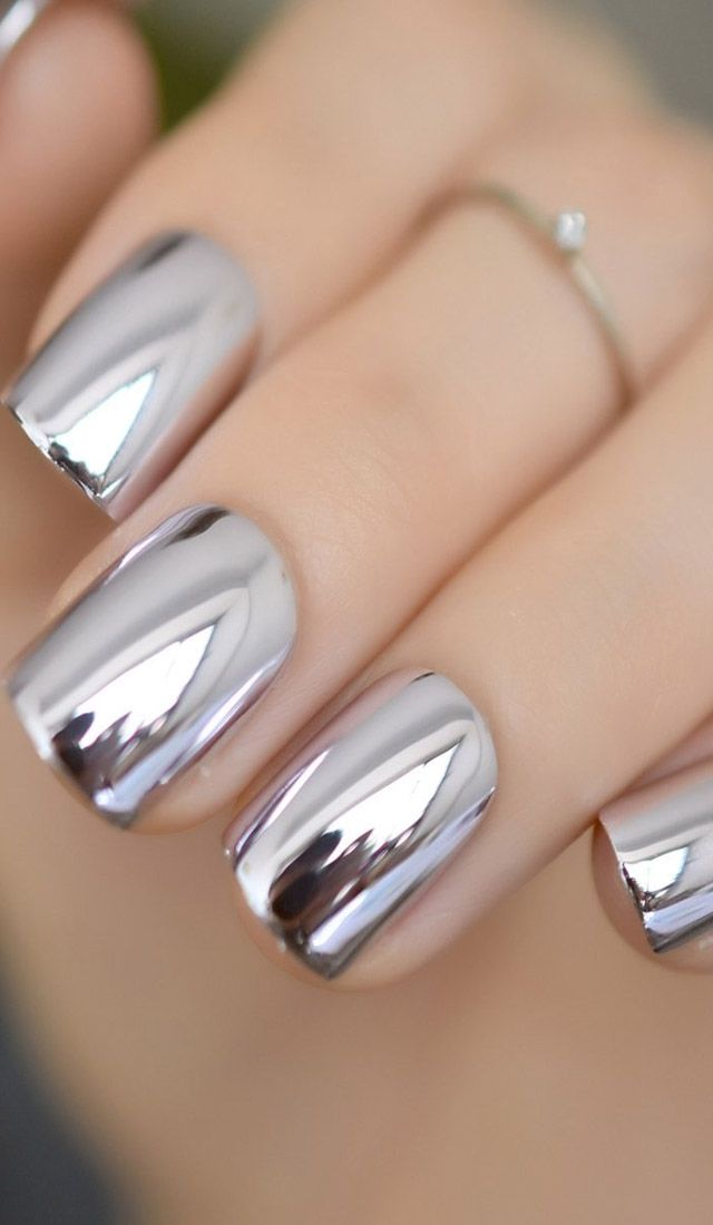 Best Chrome Nail Paints On Amazon Mirror Nails Chrome Nails