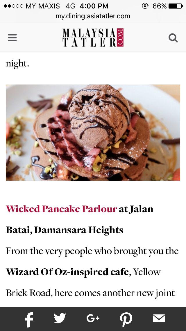 Wicked Pancake Parlour Damansara Heights