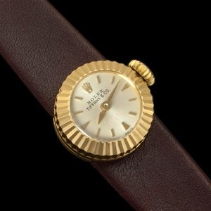 1978 Rolex For Tiffany Co Ladies Vintage Orchid Watch 18k