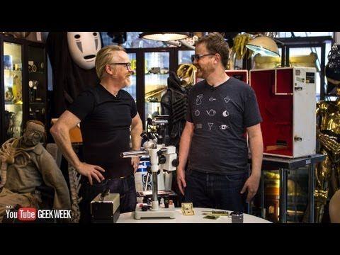 ▶ Testing Adam Savage's New Dissection Microscope (Geek Week!) - YouTube
