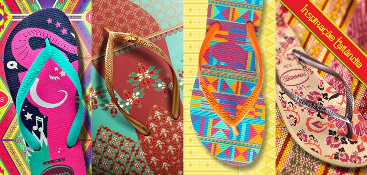 Havaianas goes Thai | Made in Brazil | Pinterest