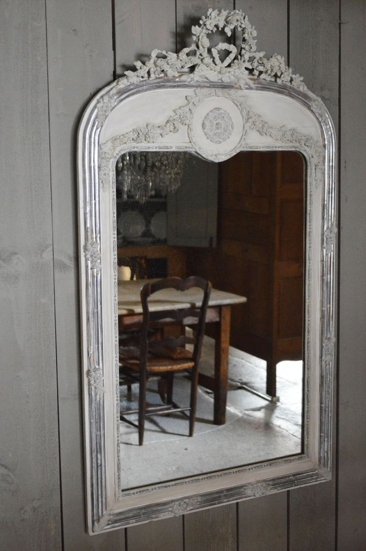 Louis Philippe Silver Gilt Mirror