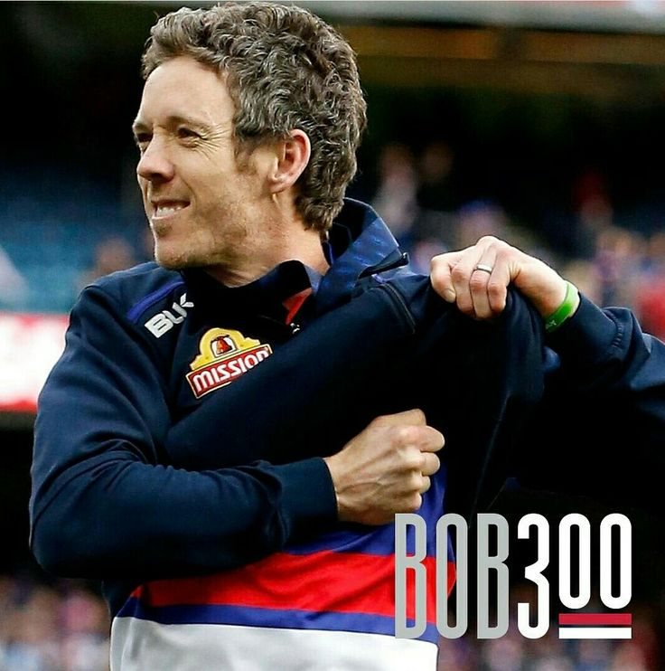 Congratulations to our fearless leader Bob Murphy who plays his 300th game on the 22nd April 2017. Bulldog through and through #Bob300