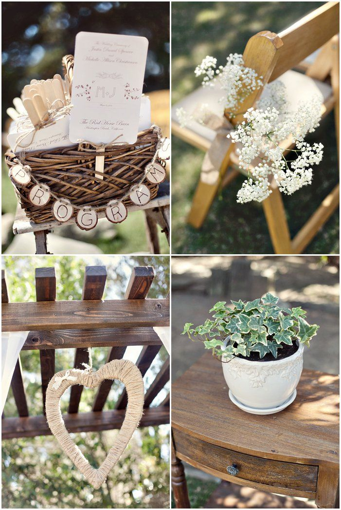rustic weddings | Get Rustic Weddings In Your Inbox! -repinned from Southern California wedding officiant https://OfficiantGuy.com #ocweddings #orangecountyofficiant