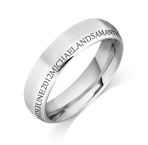Angara Milgrain Sided Mid-Weight Comfort Fit Mens Wedding Band in Platinum rklsRNnR