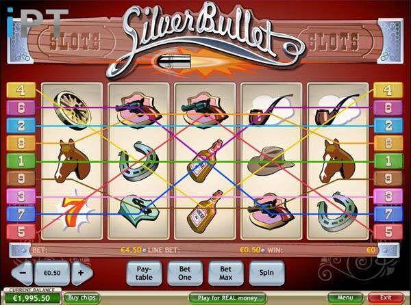Spiele Silver Bullet - Video Slots Online