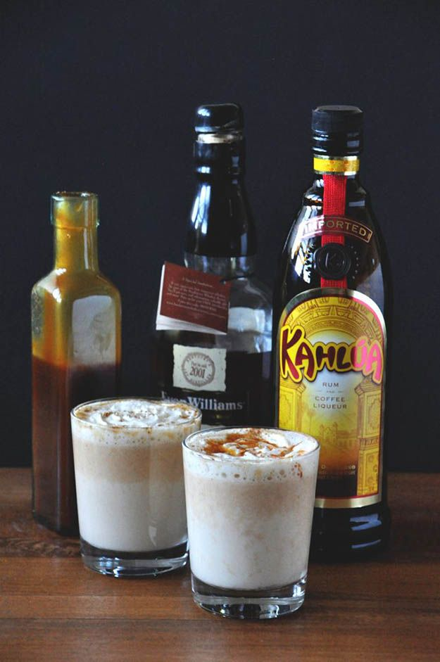 Boozy Pumpkin White Hot Chocolate (2 Ways)   9 Fall Cocktail Recipes to Pair With the Autumn Chill