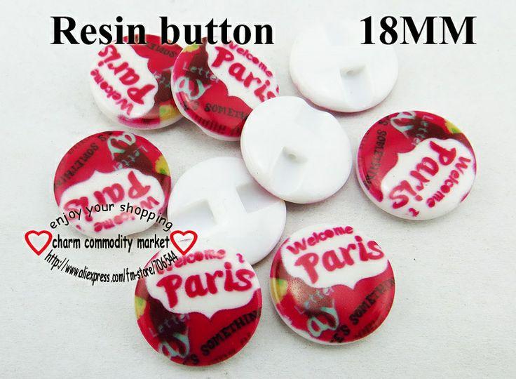 150PCS 18MM pairs designs  fashion RESINic  buttons  SWEATER SHIRT button BULK R-214 $7,45