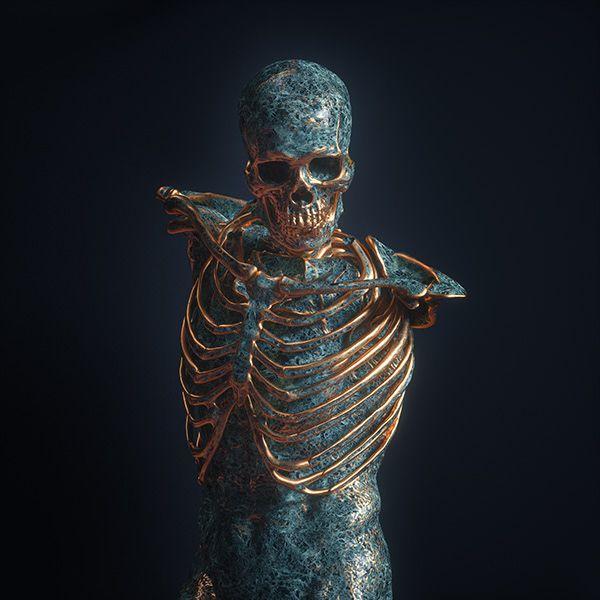 Santa Muerte † on Behance | Craneo in 2019 | Art, Skull art