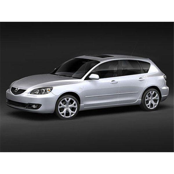 Mazda 3 hatchback 2007 - 3D Model