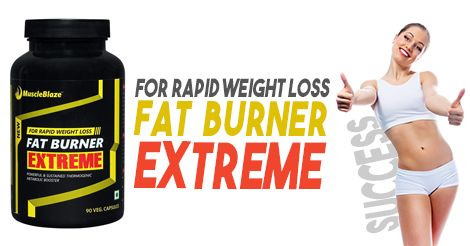 Muscle Blaze Fat Burner Extreme is a Best Fat Burner Supplement